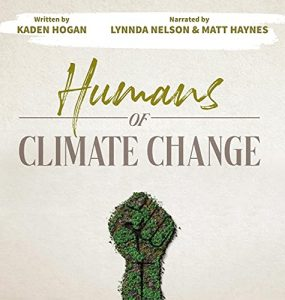 audiobook cover for Humans of Climate Change
